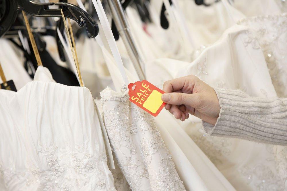 Brautkleid im Sale