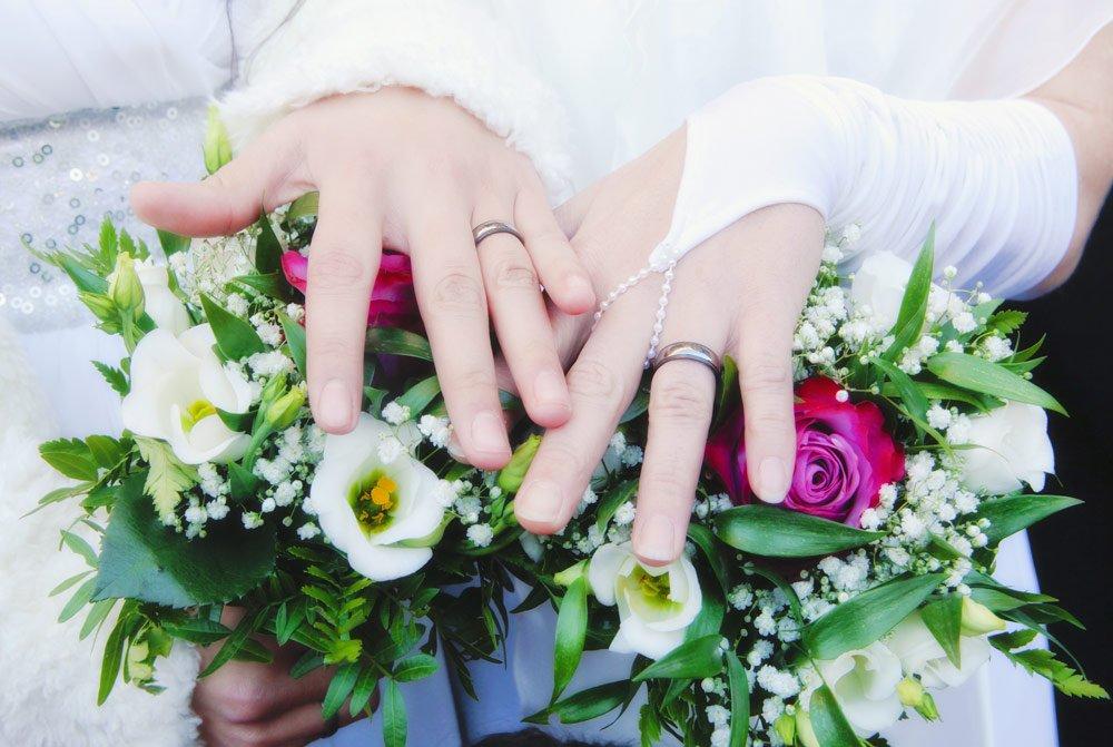lesbische Hochzeit