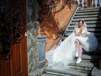 Sneaker zum Brautkleid