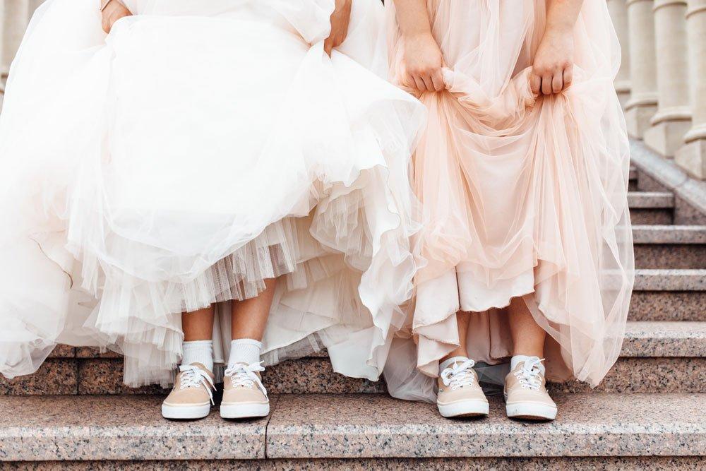 Sneaker zur Hochzeit