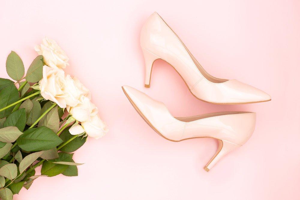 Schuhe für schlanke Beine: Pumps